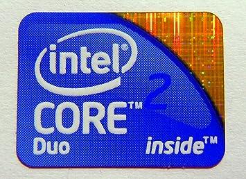 Original Intel Core 2 Duo Inside Sticker 15.5 x 21mm [157]