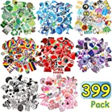 399 Pieces Mixed Stickers for Water Bottles Cute Stickers for Water Bottles Waterproof Vinyl Stickers Travel Trendy…