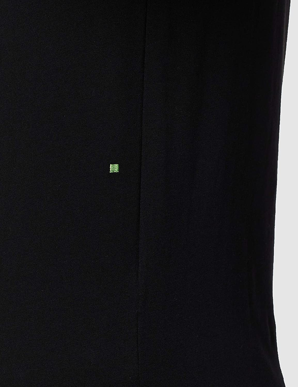 Hugo Boss Green Tee 1 Basic Regular Fit Black T-Shirt