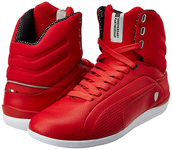 puma gigante mid leather
