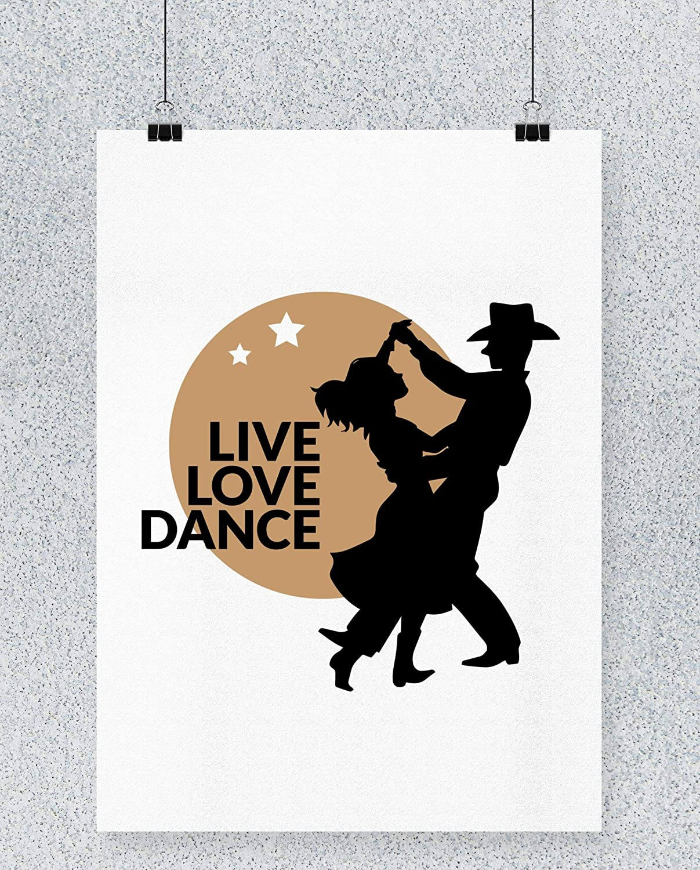Compra Hippowarehouse Live Love Dance Cowboy Cartel Impreso ...