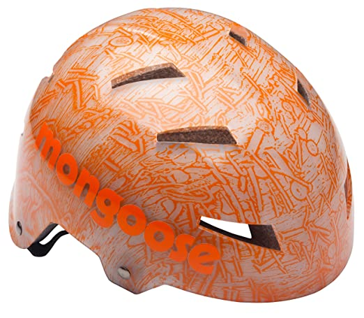 7b7f60b2818 This stylish helmet features a translucent hardshell design that provides  your child with maximum protection and a funky pattern underneath.