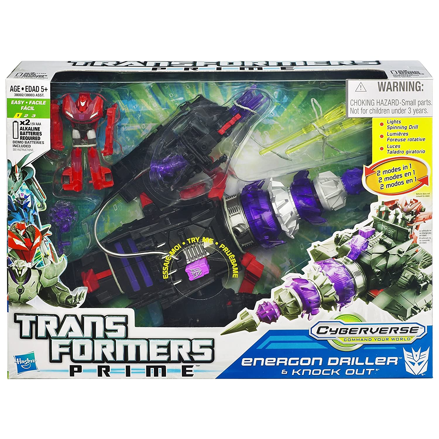amazon com transformers prime cyberverse command your world