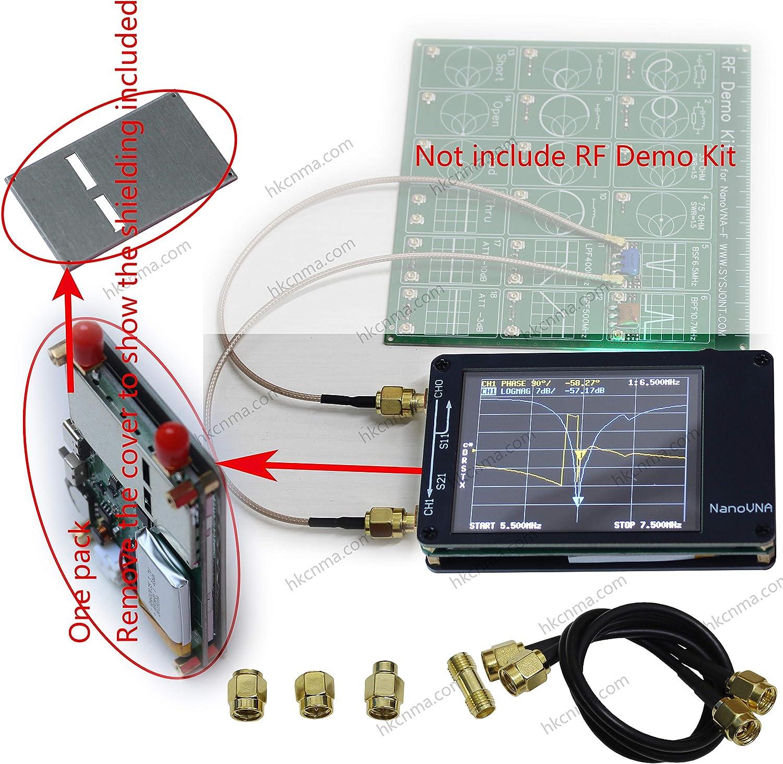NanoVNA Vector Analizador de red 2.8
