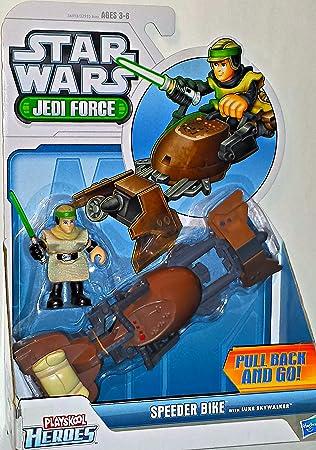Star Wars Jedi Force Playschool Heroes Speeder Bike with ...