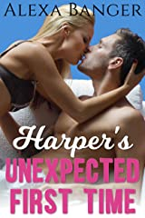 Harper's Unexpected First Time (Older Man Younger Woman First Time Pregnancy Romance) Kindle Edition