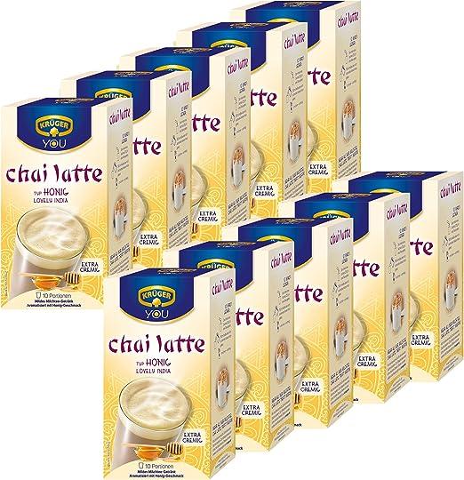 Krüger Chai Latte Lovely India, miel de sabor, lávalo Leche Té ...