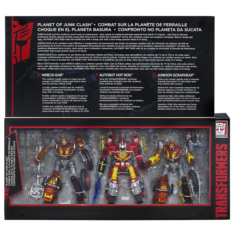 Amazon Transformers Generations Platinum Edition Planet Of Junk