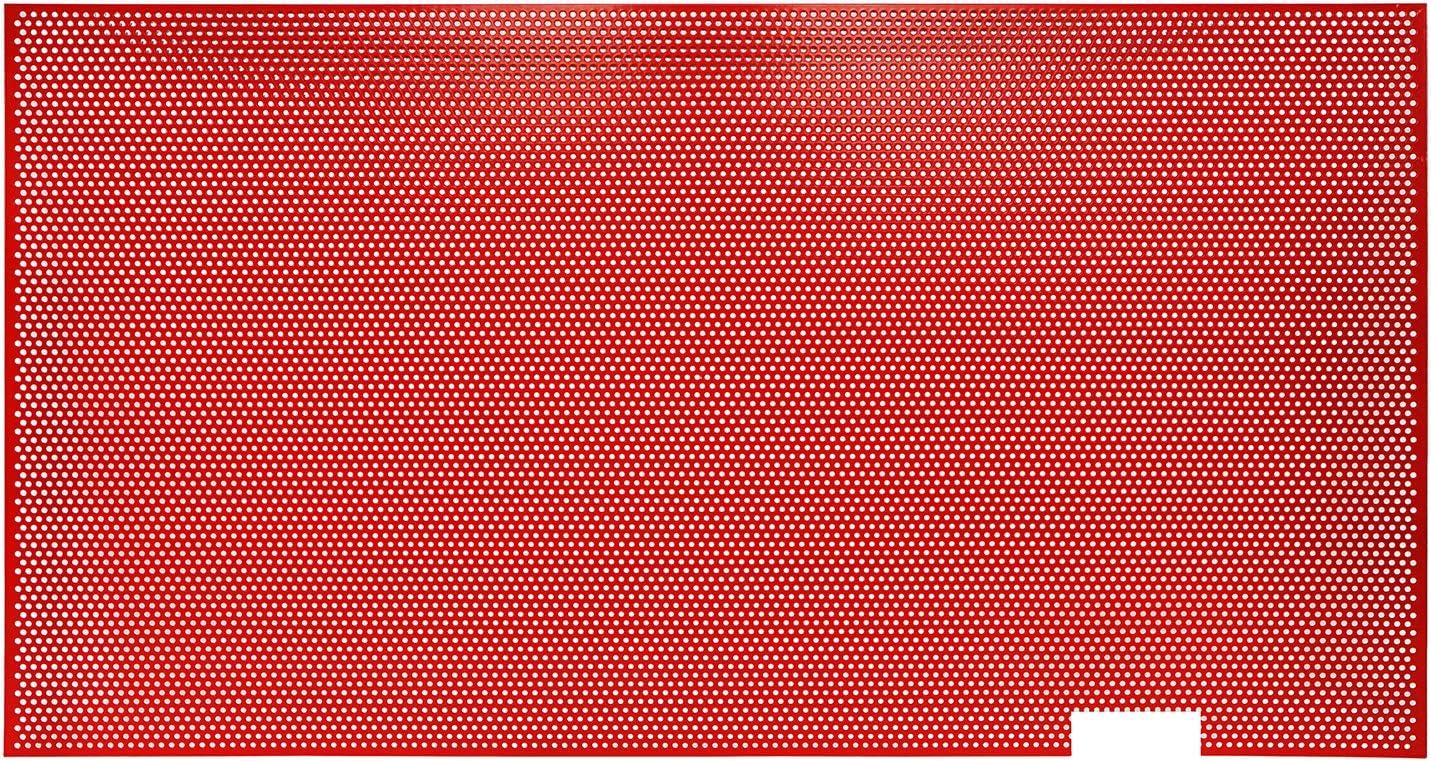 u-Box Mesh Grille Insert in Red for 2007-2018 Jeep Wrangler JK