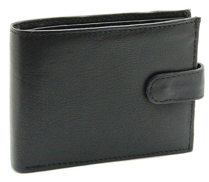 Amazon.com: ras billeteras de los hombres suaves piel ...