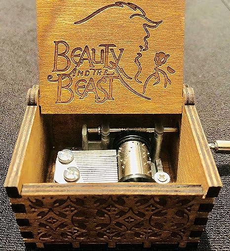 Phoenix Appeal Caja de música de madera tallada a mano con música ...