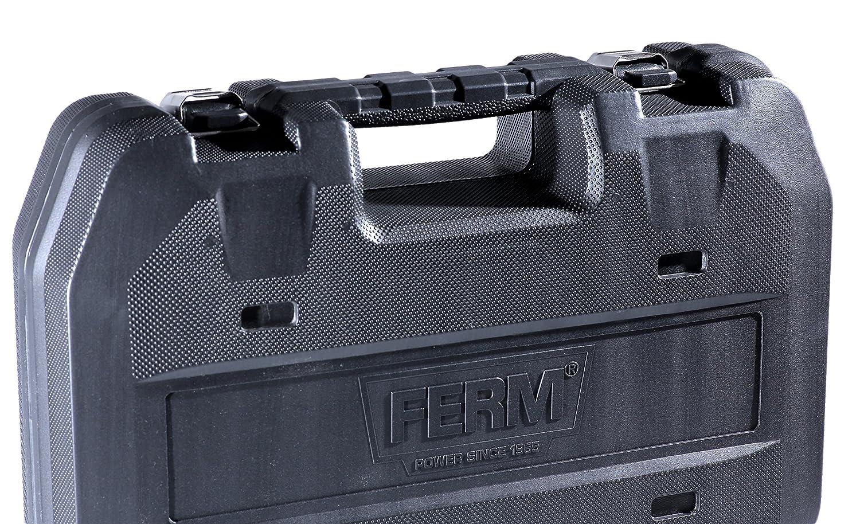 1 batterie et /éclairage LED Incl FERM Perceuse sans fil 18V 4.0Ah Li-ion