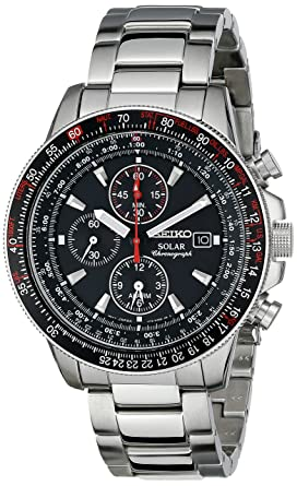 f227941ee42 Amazon.com  Seiko Men s SSC007 Stainless Steel Watch with Link ...