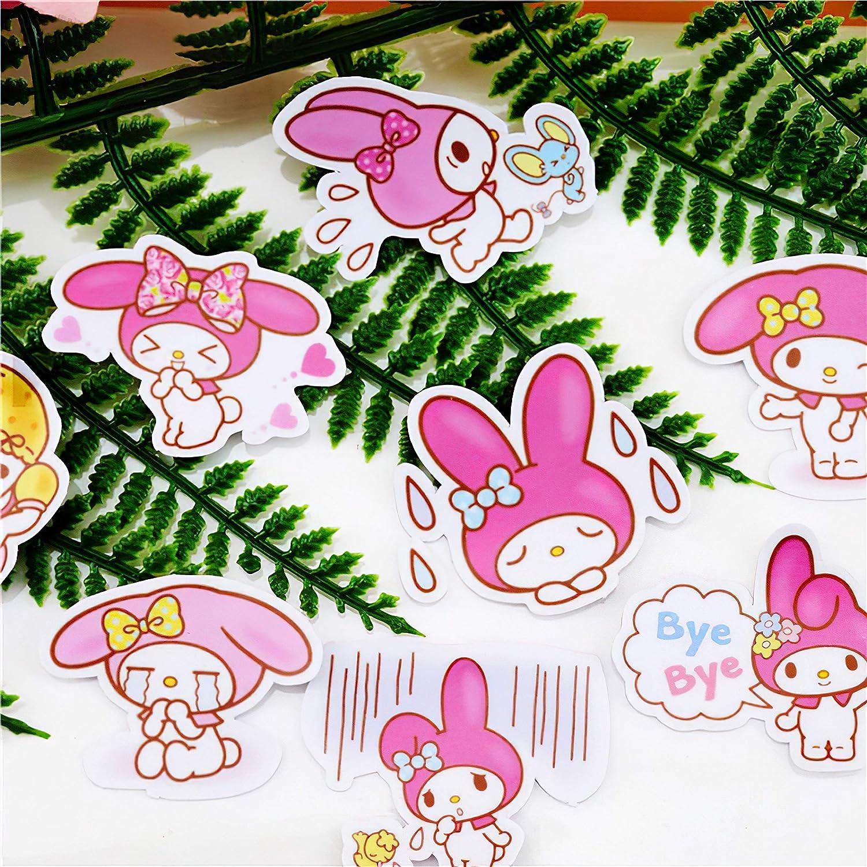 40pcs Creative Cute Kawai self-Made My Melody Scrapbooking Stickers//Decorative Sticker//DIY Craft Photo Albums
