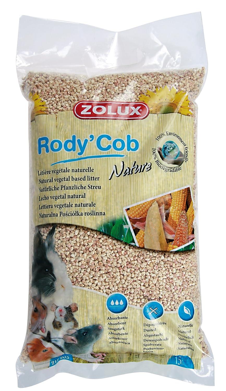 Zolux - Litière Pour Rongeurs - Rafle De Maïs - 15 Litres