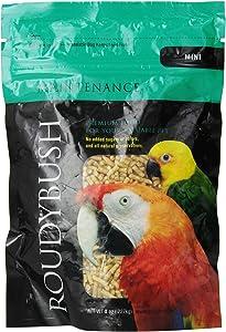RoudyBush Daily Maintenance Bird Food, Mini, 8-Ounce