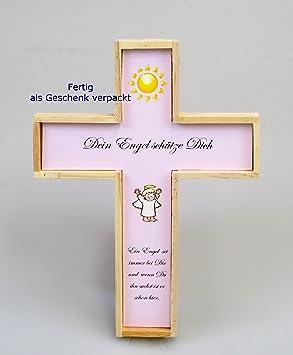 Taufkreuz Für Mädchen Geschenk Zur Taufe Patengeschenk