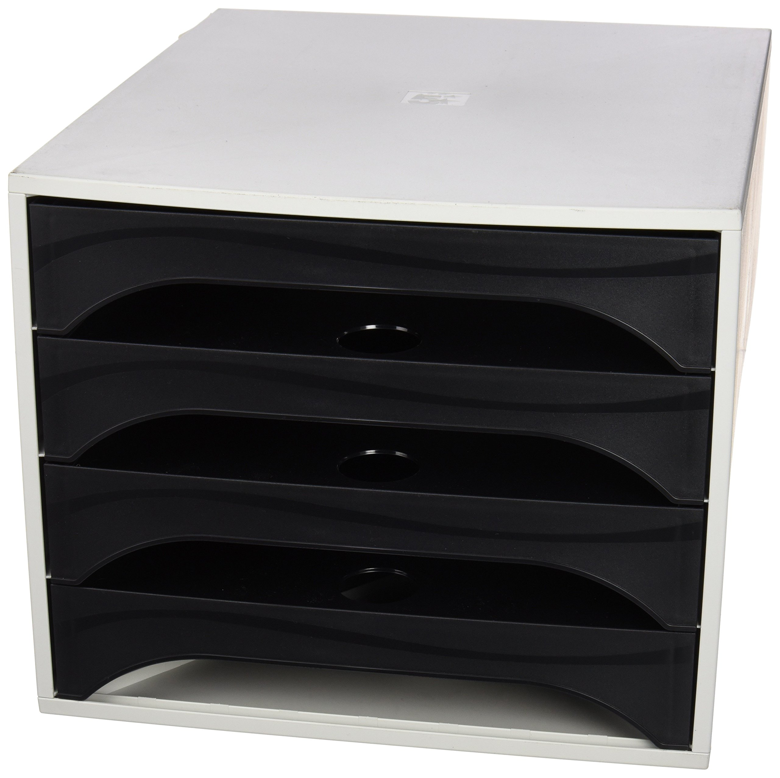 5Star 2286014AD Office Box Deluxe, Black