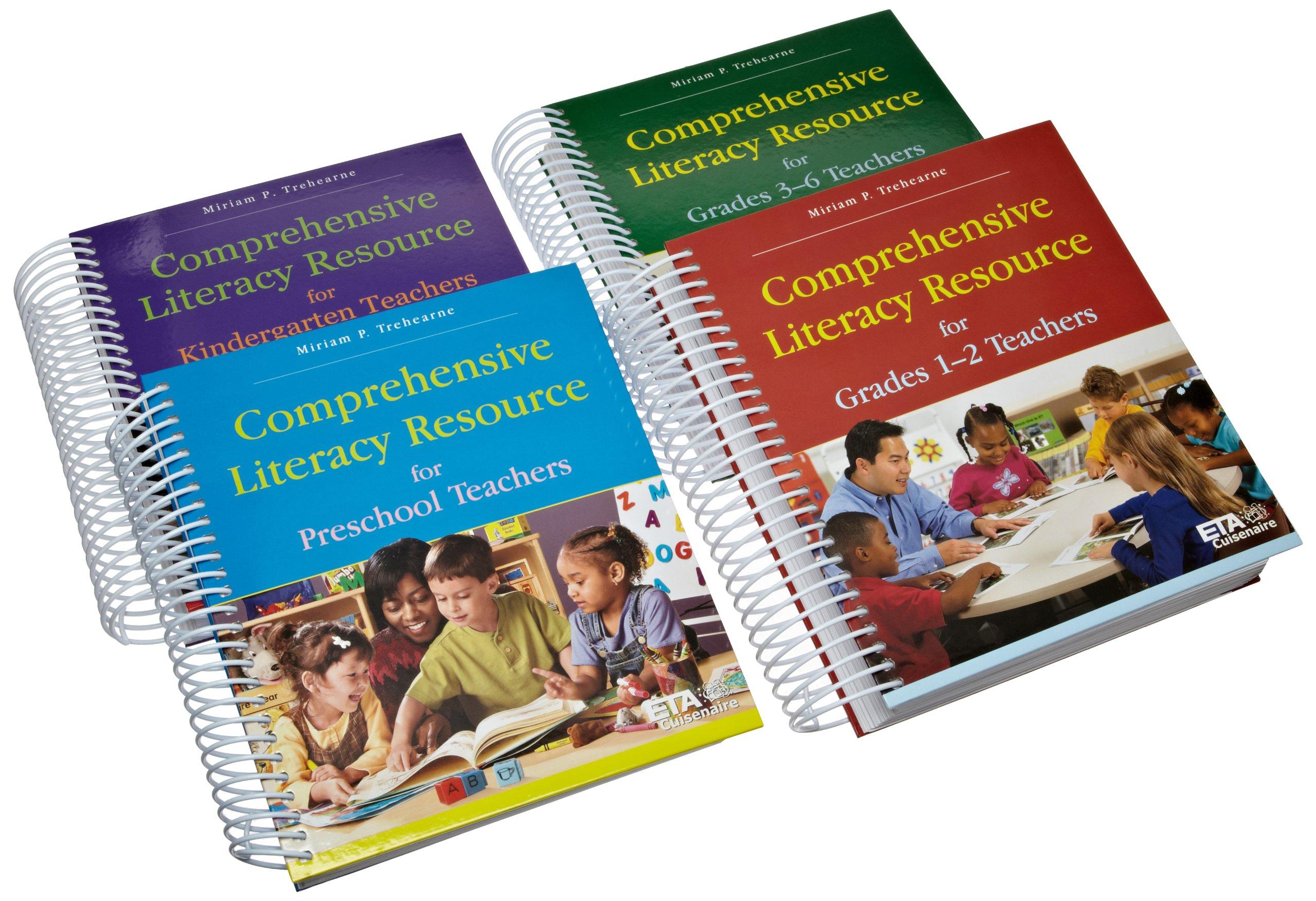 ETA hand2mind Comprehensive Literacy Resource Book Collection, PreK-6