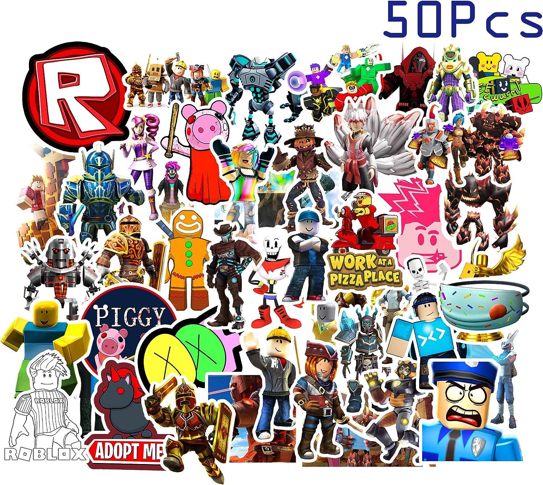 Kilmila Sticker for Pixel War Game[50pcs] for Kids Laptop Water Bottle Bike Car Motorcycle Bumper Luggage Skateboard Graffiti