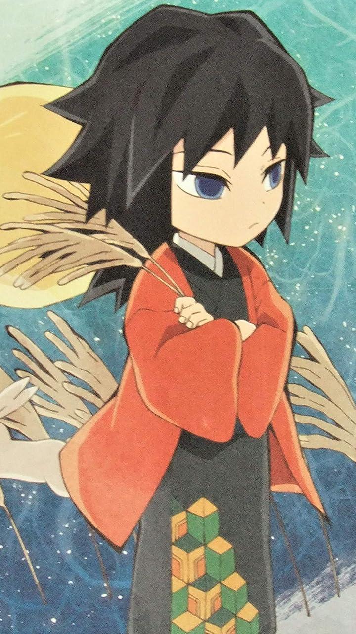 鬼滅の刃 冨岡義勇 HD(720×1280)壁紙画像