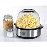 Nostalgia SP660SS Stainless Steel Stir-Pop 6-Quart Popcorn Maker