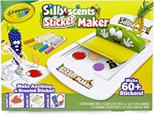 Crayola Silly Scents Sticker Maker, Gift for Kids, Ages 6, 7, 8, 9