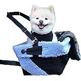 Cozy Boost Travel Set: Dog Car Booster Seat + Plush Blanket + Travel Dish