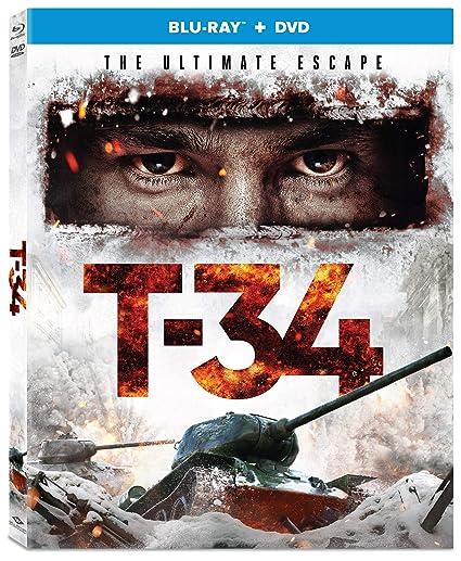T 34 Blu Ray Dvd Alexander Petrov Irina Starshenbaum Vinzenz Kiefer Aleksey Sidorov Cine Y Tv