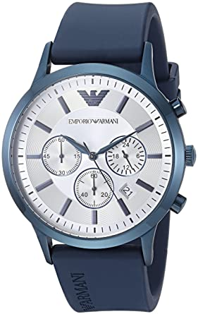 Amazon.com  Emporio Armani Men s Renato Stainless Steel Analog ... 6d50c2b6e7