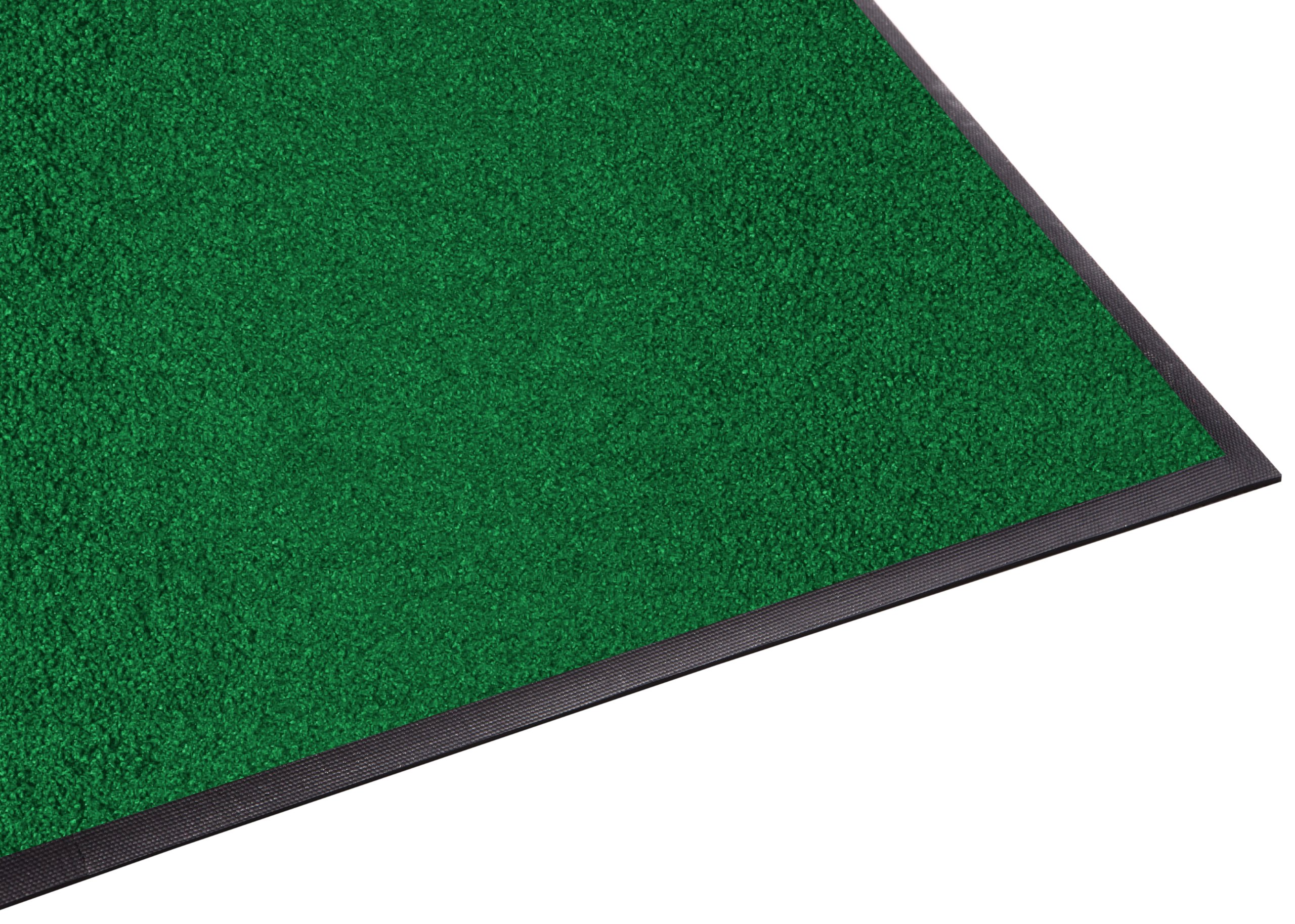 Guardian Platinum Series Indoor Wiper Floor Mat, Rubber with Nylon Carpet, 2'x2', Green by Guardian