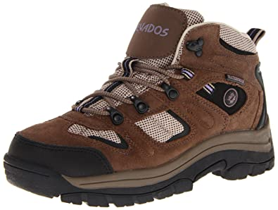 Nevados Women's Klondike Waterproof V1173W Hiking Boot,Dark  Brown/Black/Taupe,7
