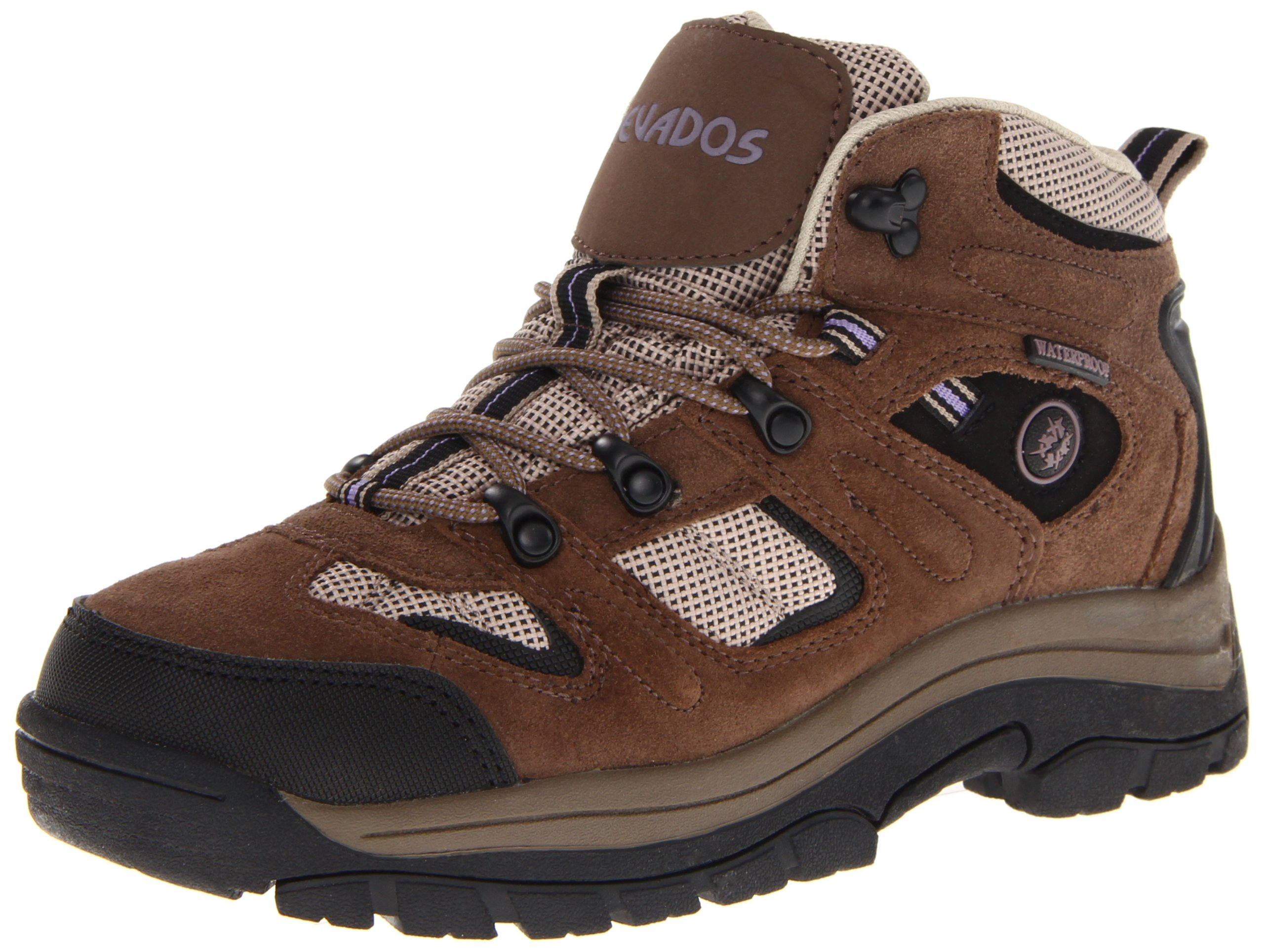 Nevados Women's Klondike Waterproof V1173W Hiking Boot,Dark Brown/Black/Taupe,9.5 M US