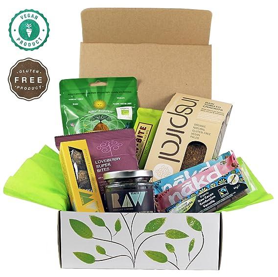 Raw vegan gluten free hamper gift box amazon grocery raw vegan gluten free hamper gift box negle Choice Image