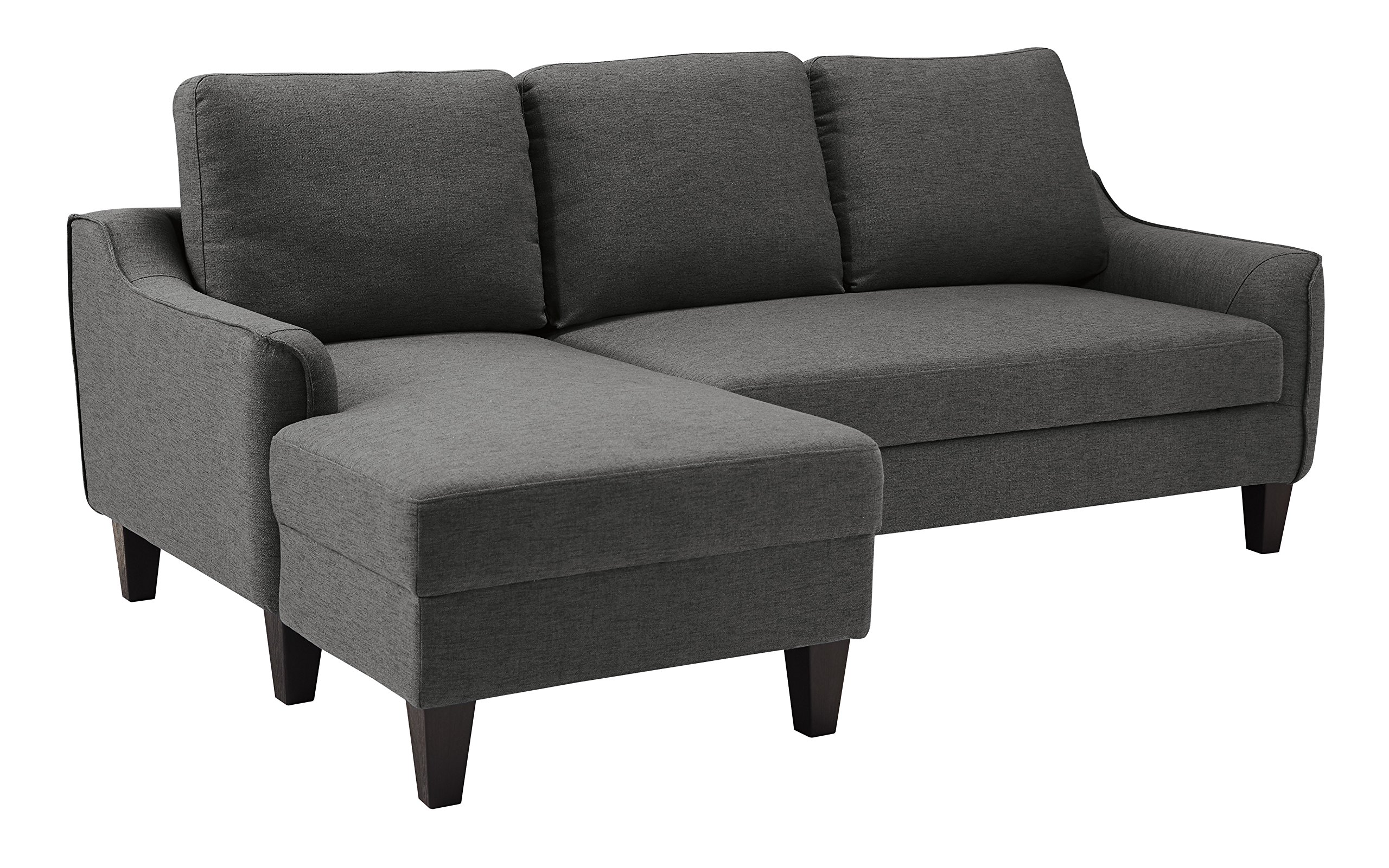 Ashley Furniture Signature Design - Jarreau Contemporary Upholstered Sofa Chaise Sleeper - Gray by Signature Design by Ashley