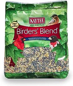Kaytee Birders Blend Stand Up Bag, 5-Pound