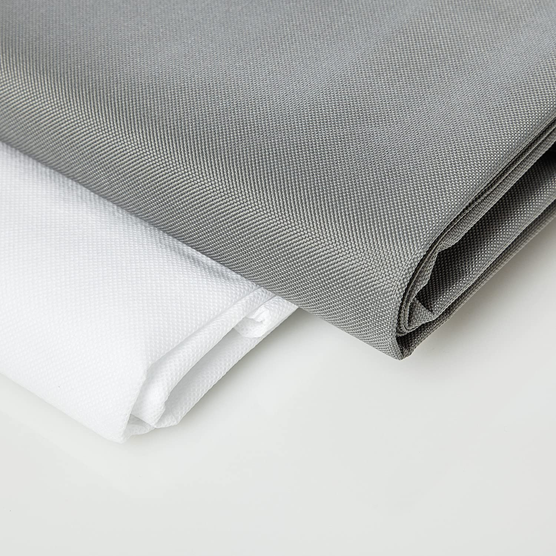 Lumaland Fodera Rivestimento Federa per poltrona a sacco XXL 140x180 cm per esterni ed interni in grigio Amazon Casa e cucina