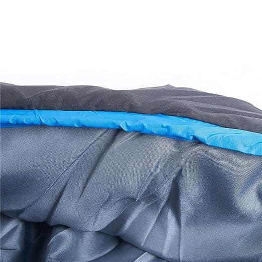 YAHILL saco de dormir para 3 estaciones para 0ºC, impermeable, ligero, transpirable y cómodo, para deporte, aventura, Camping, Senderismo, etc.
