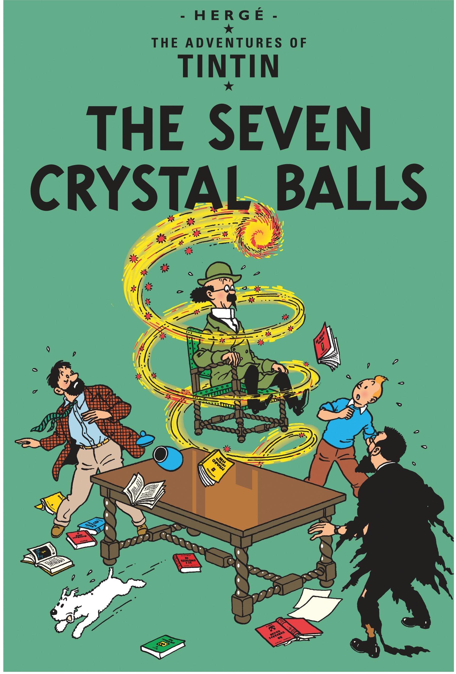 The Adventures of Tintin : The Seven Crystal Balls (Anglais) Broché – 29 août 1931 Herge Egmont Books Ltd 1405206241 empfohlenes Alter: ab 9 Jahre