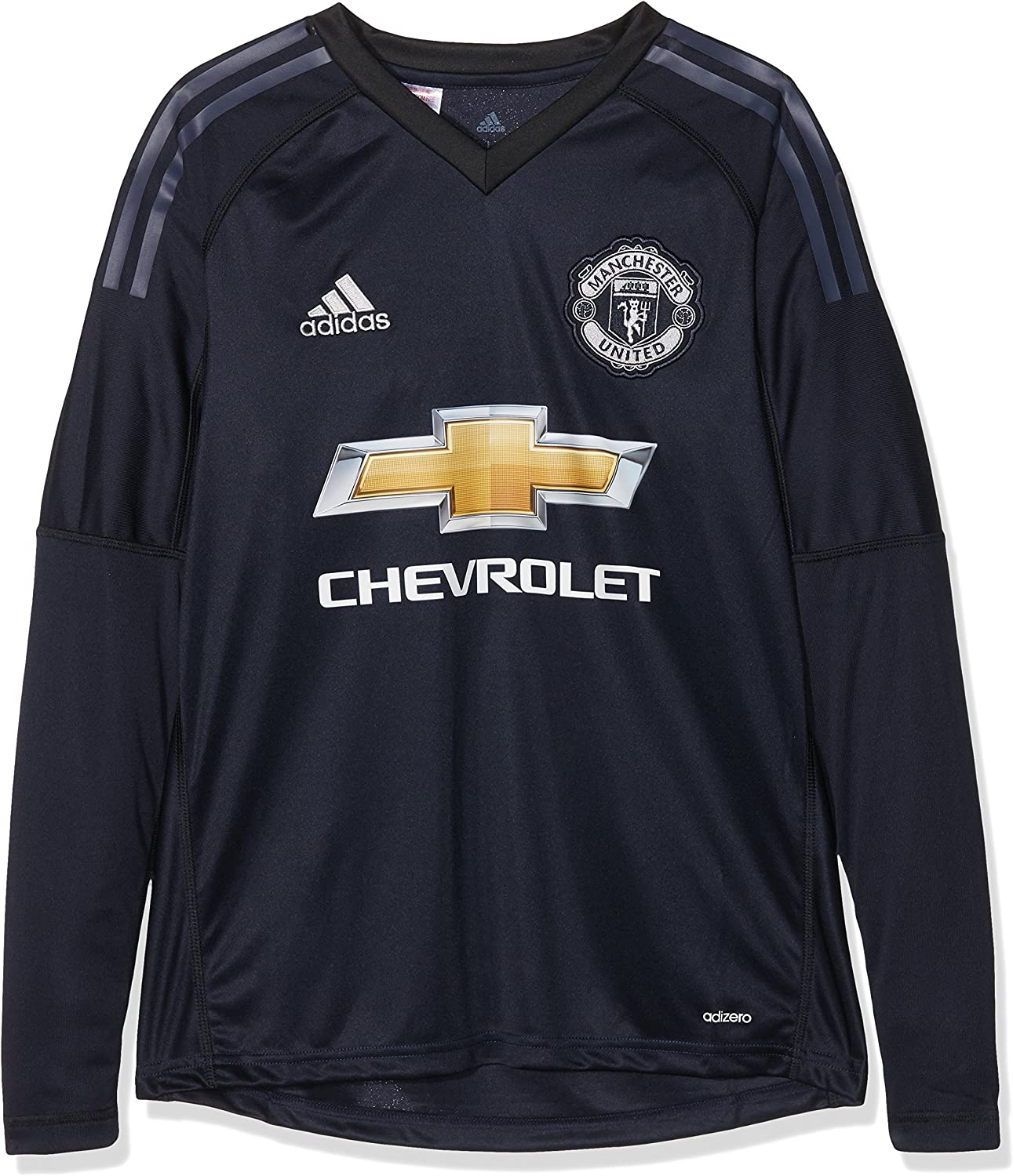 Adidas Children S Manchester United Goalkeeper Shirt Amazon Co Uk Clothing