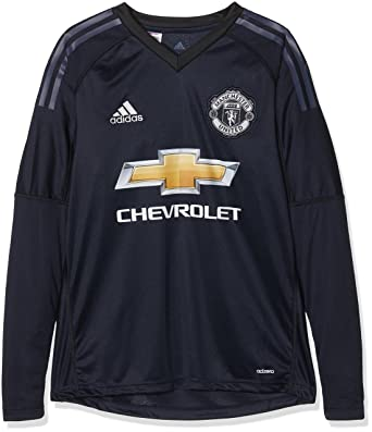 buy online a8dad 3fb31 Adidas Children's Manchester United Goalkeeper Shirt
