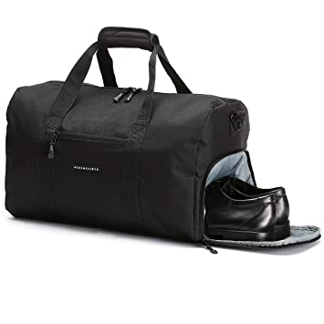 ce016b59ccc5f ronin s Stilvolle Sporttasche Reisetasche mit Schuhfach und  Trinkflaschen-Halter