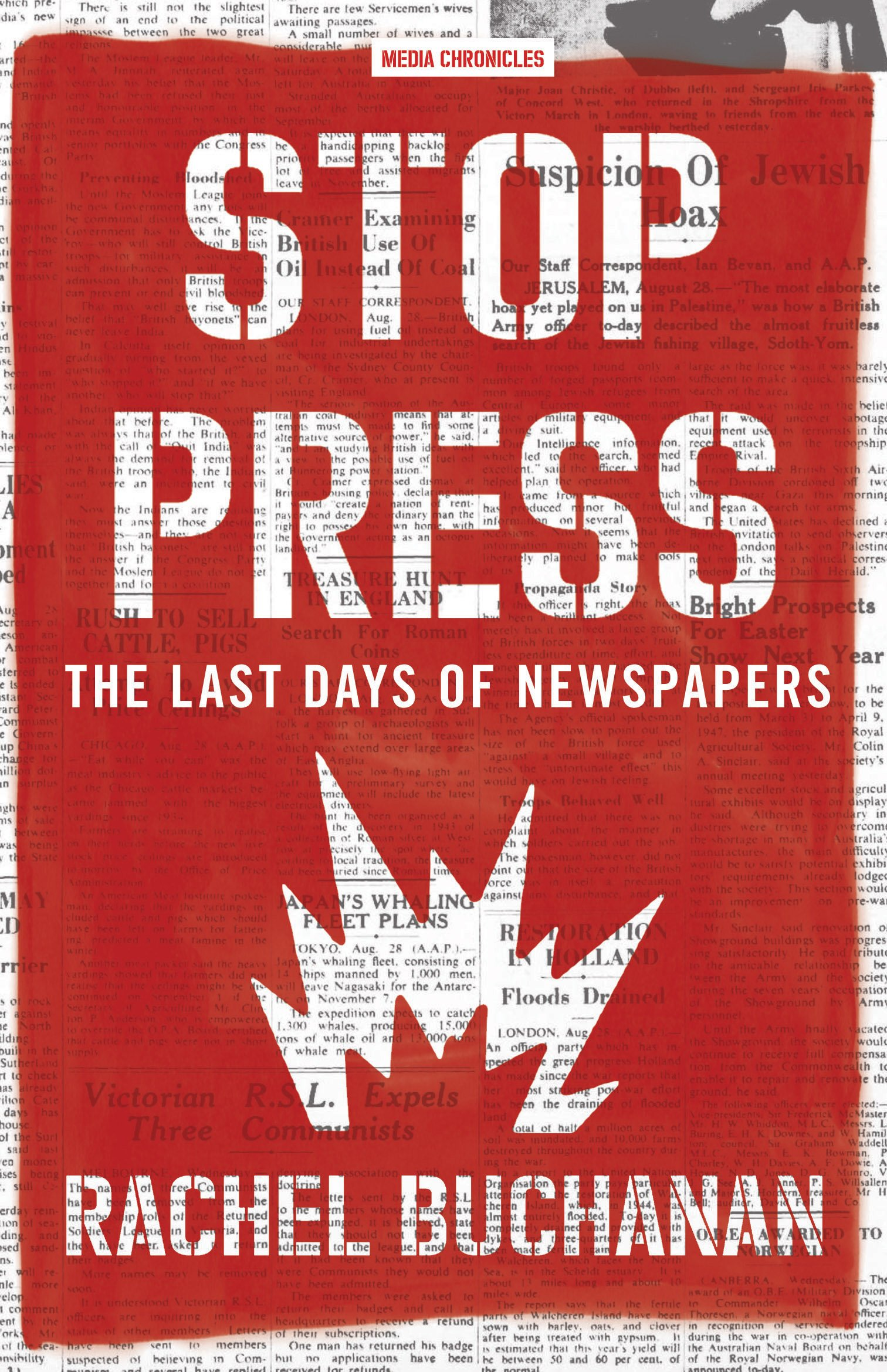 Download Stop Press: the last days of newspapers (Media Chronicles) PDF
