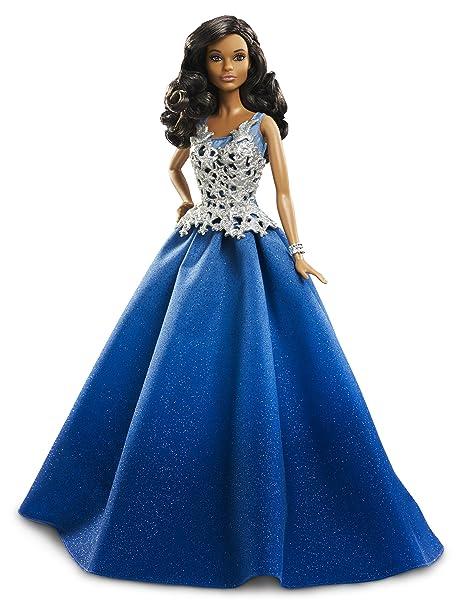 1685a5130 Barbie DGX99 - Bambola Barbie Magia delle Feste 2016 con Abito Blu ...