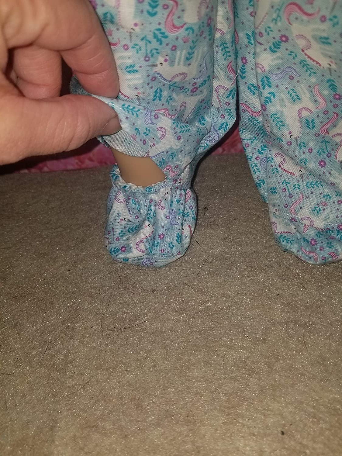 our generation Unicorn doll slippers shoes Fits 18 dolls such as American girl