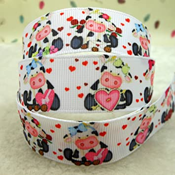 "I LOVE MOMMY MOTHERS DAY 7//8/"" Grosgrain Ribbon Various Yard SHIP FROM USA"