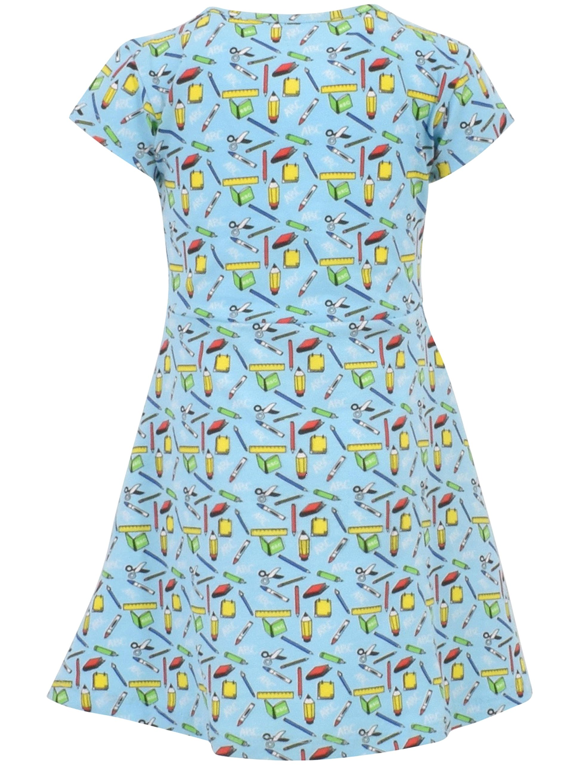 Unique Baby Girls Back to School Dress (6, Blue) by Unique Baby (Image #2)