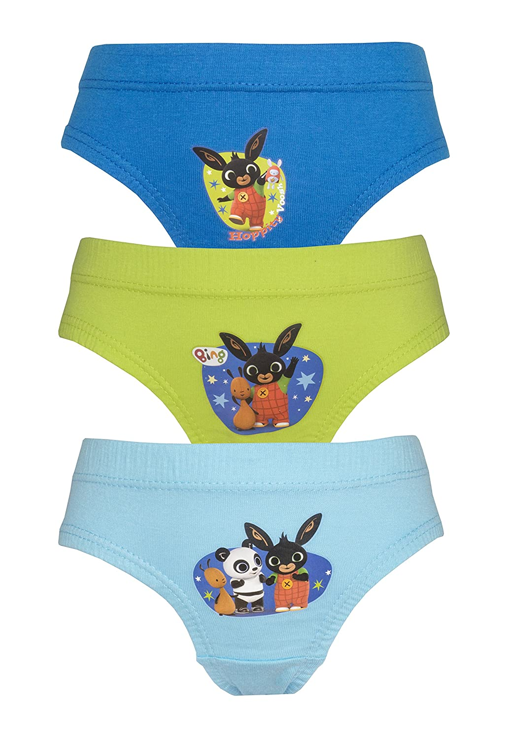 Cartoon Character Products Bing Boys 3 Pack Pants/Briefs Various Designs 18 Months - 5 yers