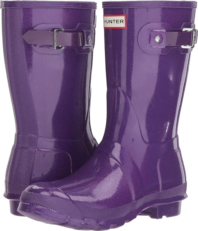 Hunter Womens Original Starcloud Short Rain Boots B07DP2XJSV 8 M US|Acid Purple