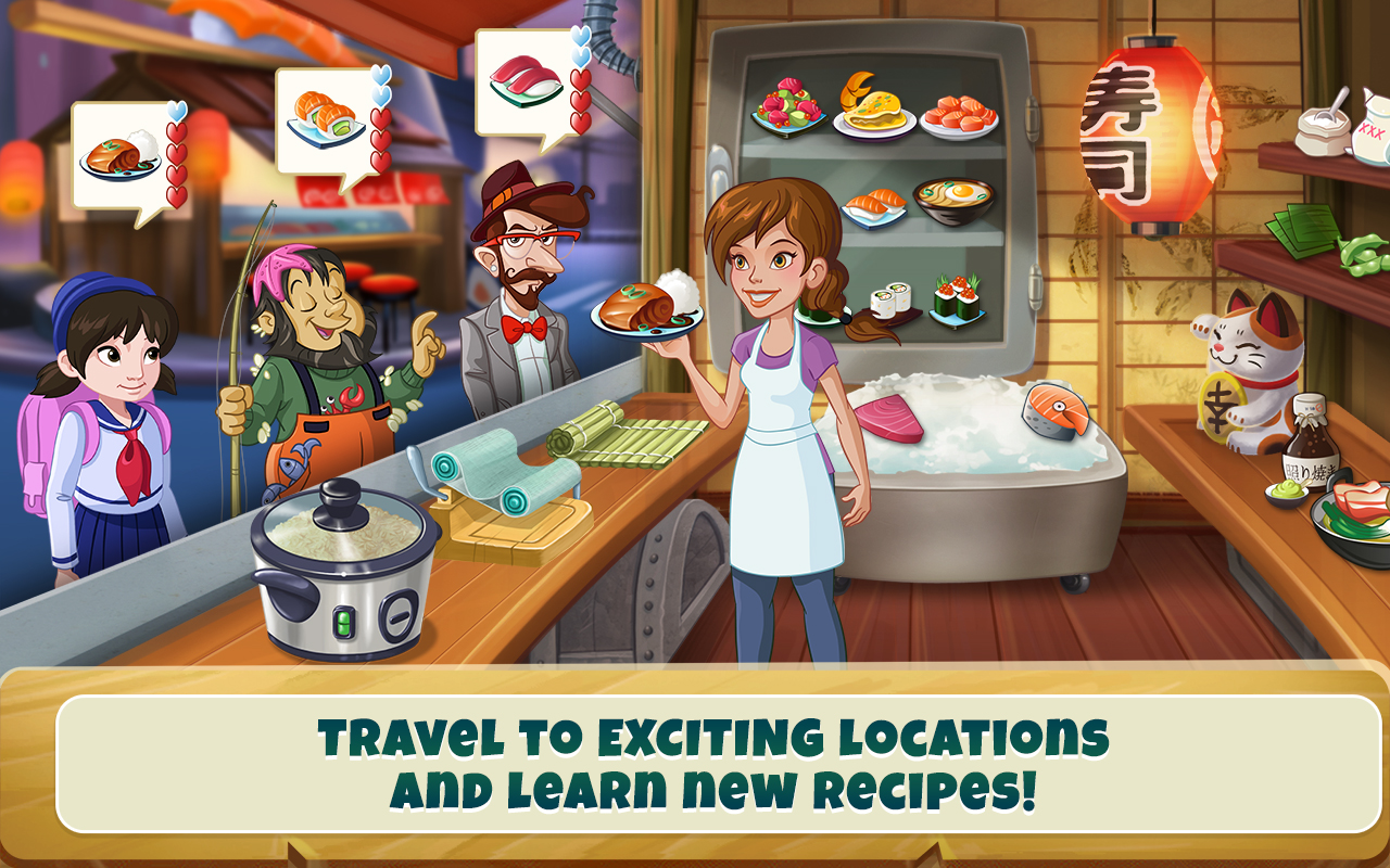 Amazon Com Kitchen Scramble Cooking Game Appstore For